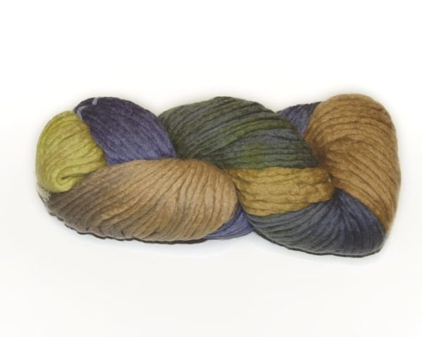 Araucania Coliumo Multy Yarn Gold Olive Blue 01