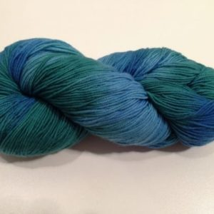 Araucania Huasco Yarn Blue Green 001