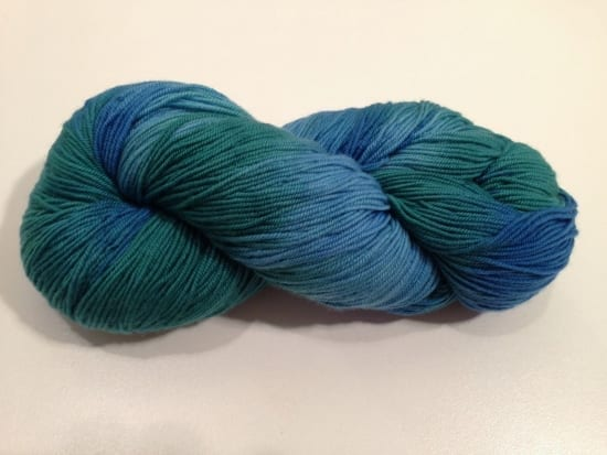 Araucania Huasco Yarn Blue Green 001
