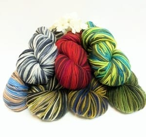 Artyarns Handpaint Stripes Group Product Photo