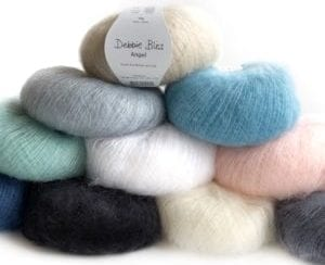 Debbie Bliss Angel Mohair Yarn Group Product Photo