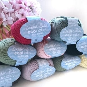 Debbie Bliss Eco Baby Fairtrade Collection Organic Cotton Yarn Group Photo