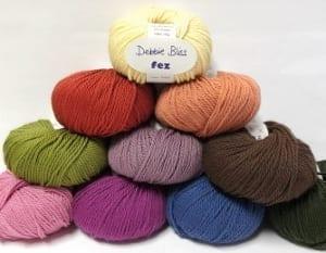 Debbie Bliss Fez Yarn Group Photo