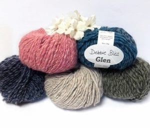 Debbie Bliss Glen Yarn Group Photo