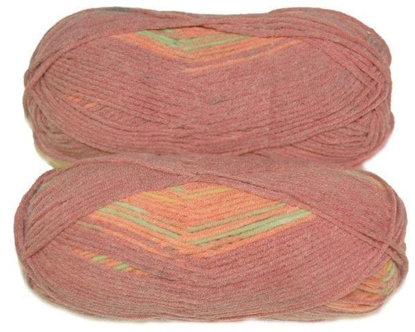 Sirdar Summer Stripes DK Yarn Tequila 0310