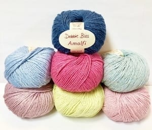 Debbie Bliss Amalfi Yarn Group Product Photo