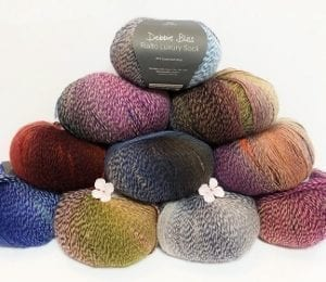 Debbie Bliss Rialto Luxury Sock Yarn Group Photo