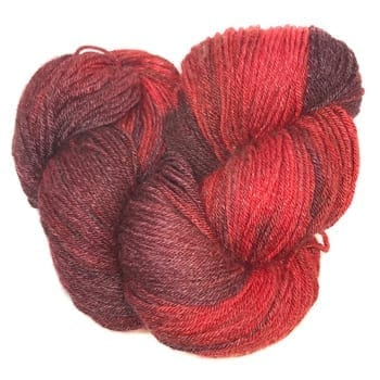 Arctic Qiviut Sock Yarn Tiger Lily