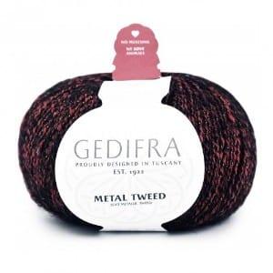 Gedifra Metal Tweed yarn