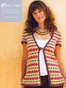 Ella Rae Design Knitting Book 07 Silkience Amity