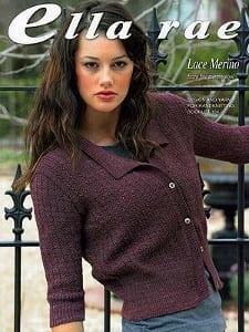 Ella Rae Knitting Book 104 Lace Merino