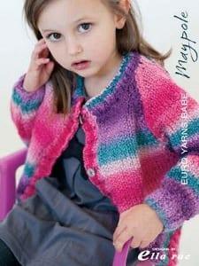 EuroBabe Maypole Knitting book 109 Designed by Ella Rae