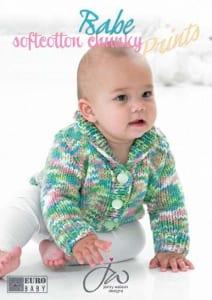 Euro Baby Babe Soft Cotton Knitting Book 112 by Jenny Watson