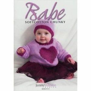 Euro Babes Soft Cotton Chunky Knitting Books Written by Jenny Watson Book 111