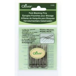 Clover Fork Blocking pins for knitting and crocheting 3163