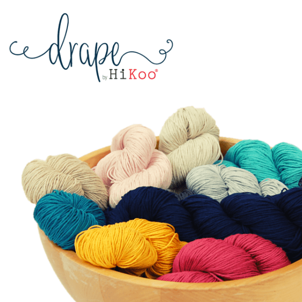 HiKoo Drape Yarn Group Product Photo