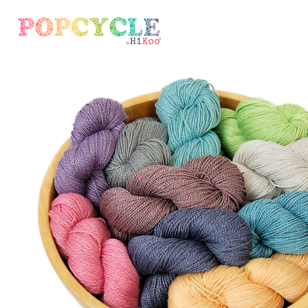 HiKoo Popcycle Recycled Yarn