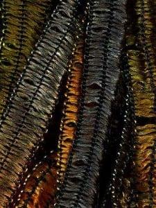 KFI Novelty Yarn Giglio Gold Olive Tan 45