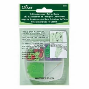 Clover Knitting Accessory Set for Socks 3035