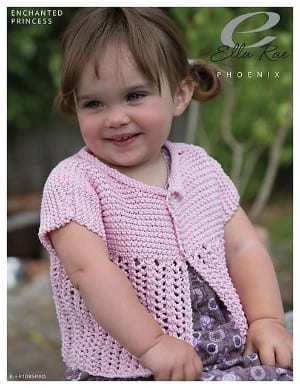 Ella Rae Enchanted Princess Cardigan Kit