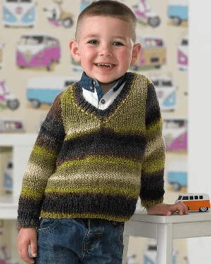 Maypole Lazy Days Sweater Knitting Kit