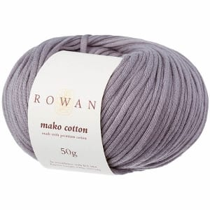 Rowan Mako Cotton Yarn 04 Grey