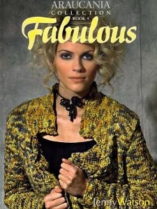 Araucania Softcover book Fabulous by Jenny Watson