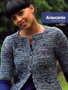 Araucania Softcover book Indian Summer