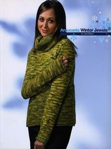 Araucania Winter Jewels Softcover Book by Jane Ellison