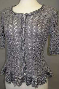 Artyarns Silk Short Sleeve Lace Tee Pattern I 114