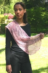 Artyarns Rosebud Shawl Pattern P 98
