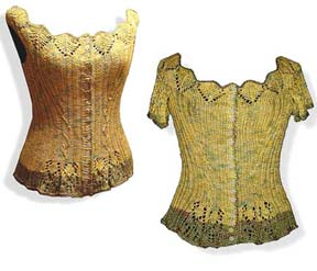Artyarns Regal Silk Ribber Corset Pattern I 92