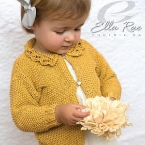 Ella Rae Ester Jacket Knitting Kit