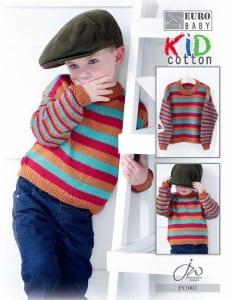 Euro Baby Kid Cotton Boys Sweater Leaflet EY 1003