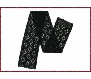 Jojoland Crochet Cashmere Scarf P-2-102-01