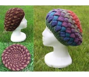 Jojoland Berry Tam Hat pattern PJ 027