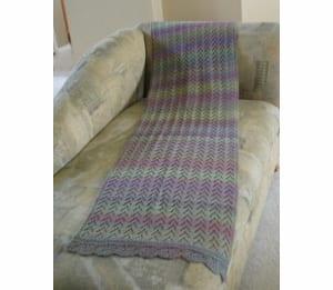 Jojoland Ripple Shawl pattern PMS-11-01
