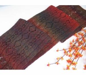 Jojoland Wine Tasting scarf pattern PMS 18-01