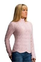 Karabella Margrite Bulky Lace Sweater Pattern KK 444