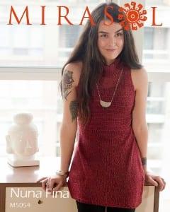 Mirasol Nuna Fina Sleeveless Turtleneck Tunic Leaflet M5054