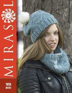 Mirasol Artic Star Hat & Cowl Leaflet pattern # M5101