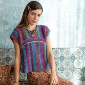 Noro Two Way Top Knitting Kit