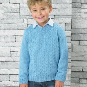 Sea Breeze Sweater Knitting Kit - Designed by Jenny Watson