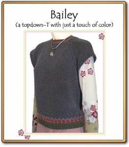 c2Knits Bailey sweater pattern