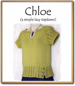 c2Knits Chloe sweater pattern