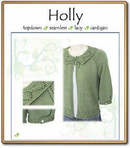 c2Knits Holly cardigan pattern