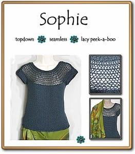 c2Knits Sophie top pattern
