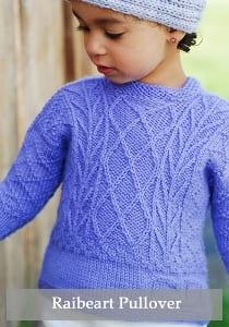 Figheadh Yarnworks Raibeart children pullover pattern 2269