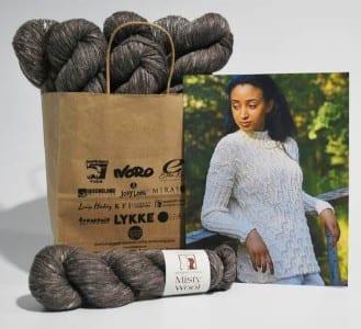 Elsebeth Lavold Rikki Sweater Kit - Version D