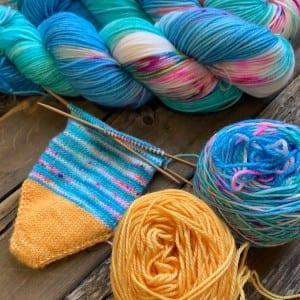 Dream in Color Sock It Club July 2020